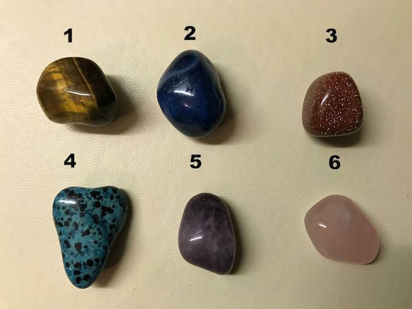 pick a crystal quiz