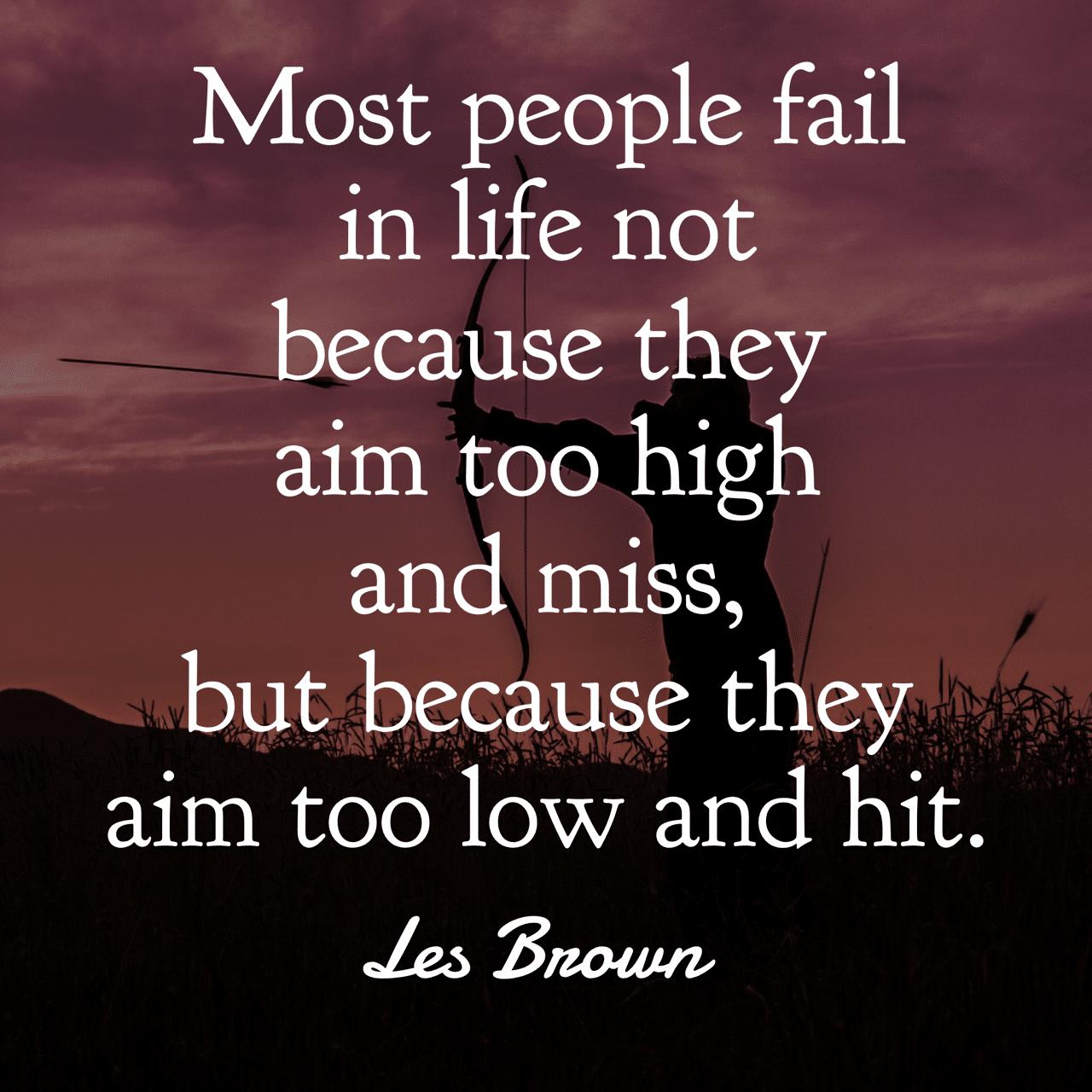 25 Motivational Les Brown Quotes