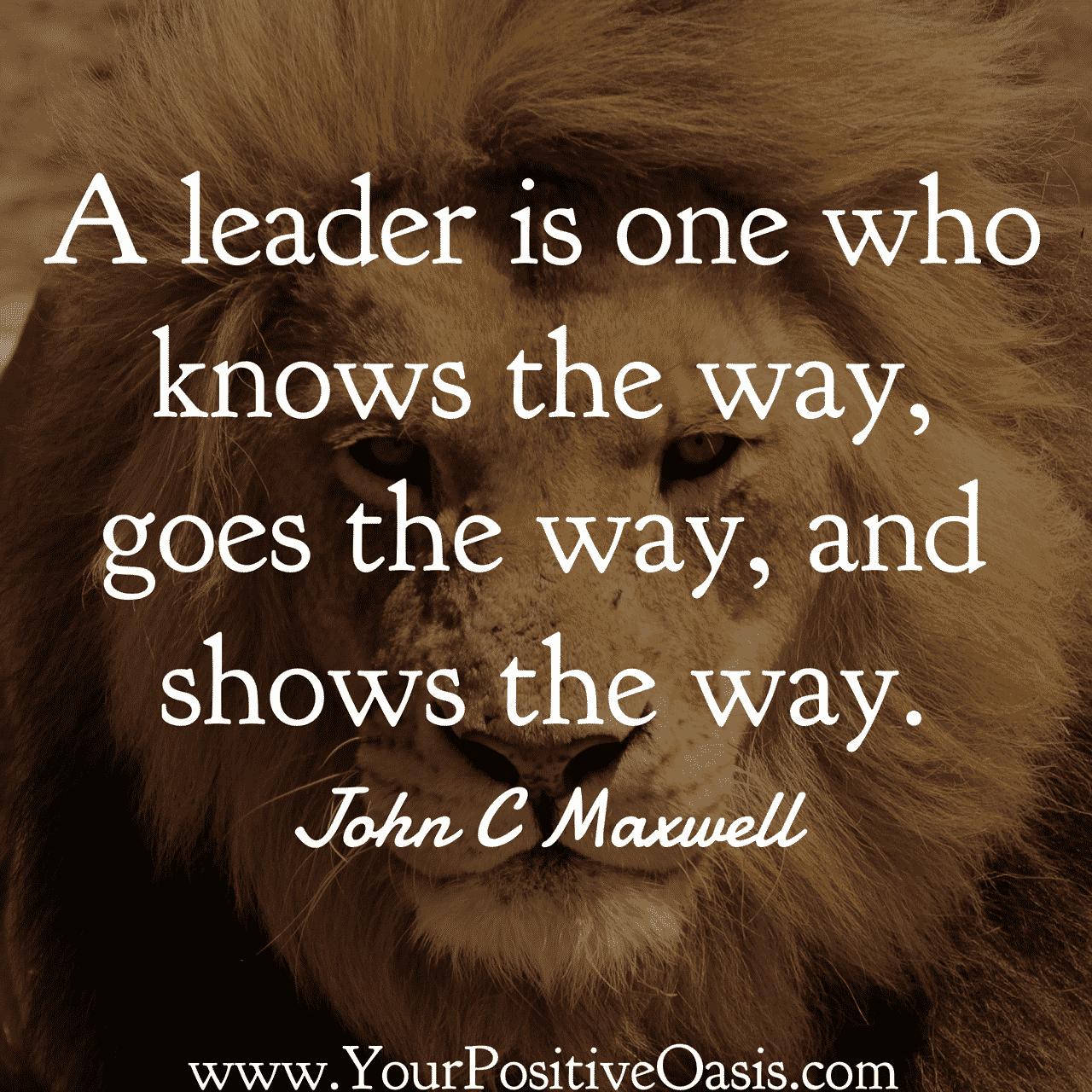 30 Inspirational John C Maxwell Quotes