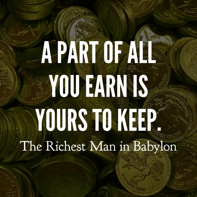 Richest Man in Babylon Quotes