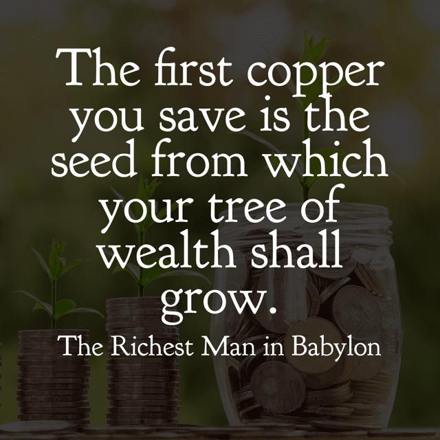 Richest Man in Babylon Quotes