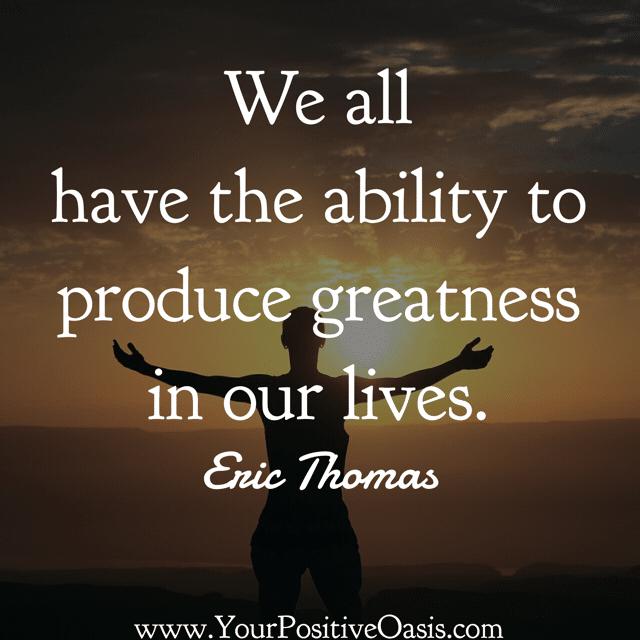 20 Motivational Eric Thomas Quotes