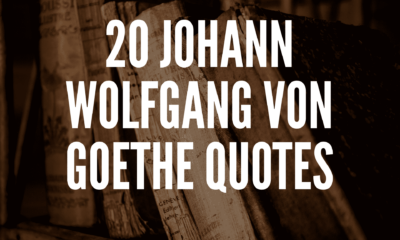 Inspirational Johann Wolfgang von Goethe Quotes