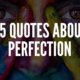 Quotes About Perfection