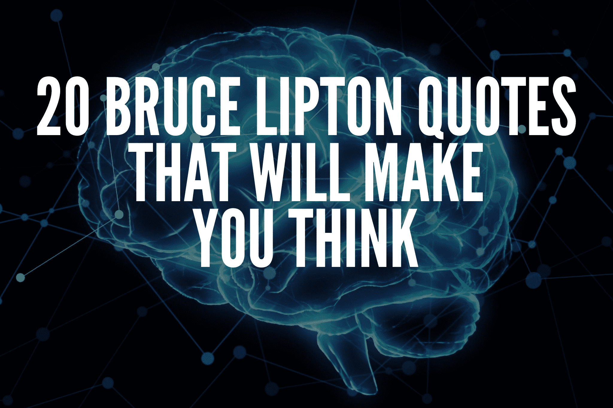 20 Bruce Lipton Quotes That Will Make You Think