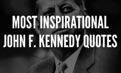 20 Most Inspirational John F. Kennedy Quotes