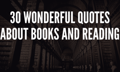 30 Wonderful Quotes About Books And Reading