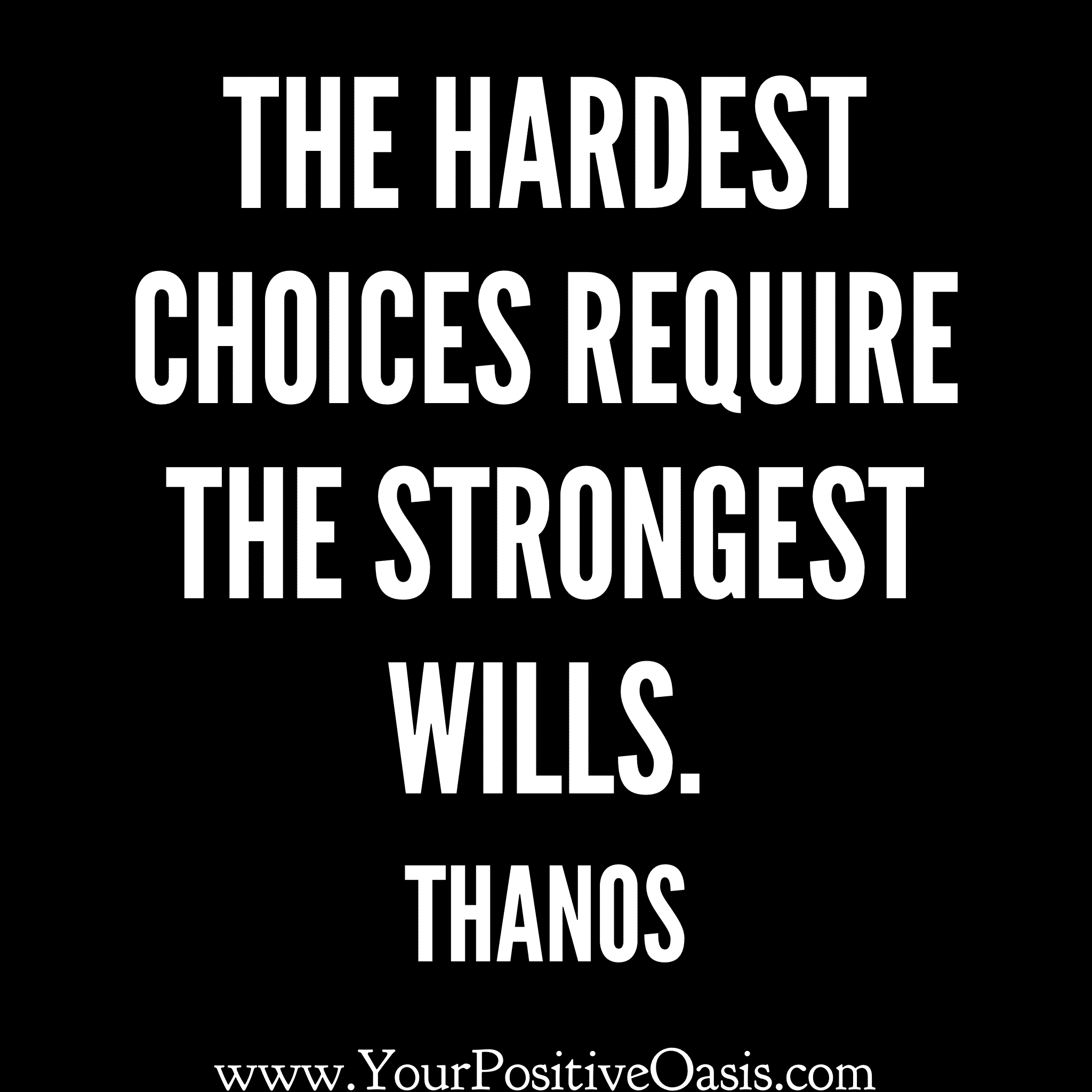25 Thanos Quotes That Are Out Of This World