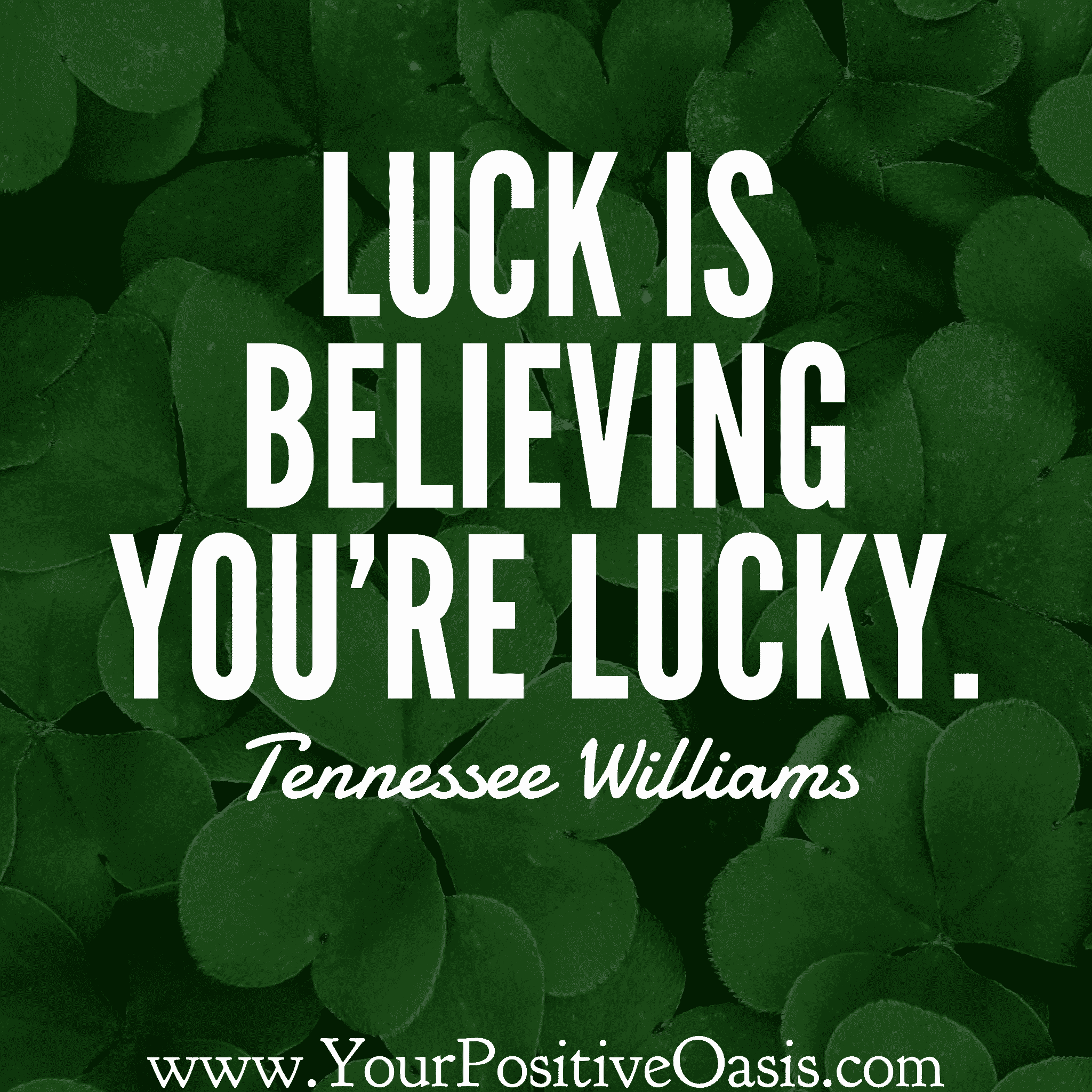 25 Wonderful Quotes About Luck